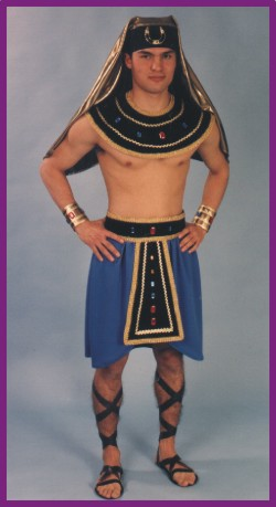 EGYPTIAN MENu0027S COSTUMES  sc 1 st  Christian Costumes & Egyptian Costumes for Men: Biblical Costumes Church Pageant ...